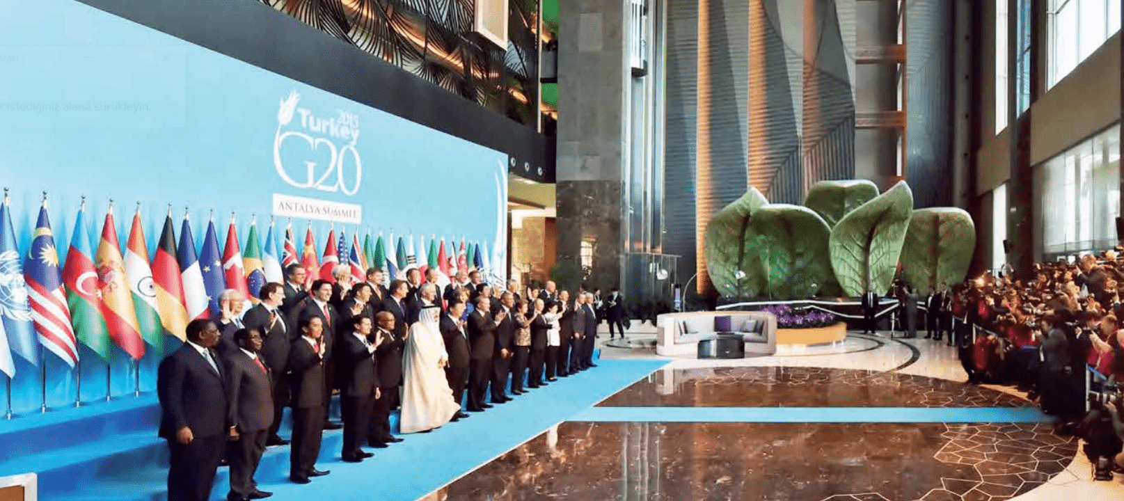 Regnum Karya Resort G20 mármol crema vainilla turco calixto